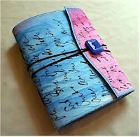 Journal handmade by Sue Bleiweiss