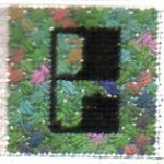 Needlework and photo by Janet Perry
