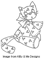 Free vintage kitty pattern