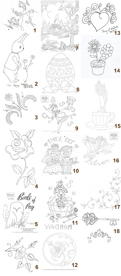 EMBROIDERY PATTERN PRIMITIVE FREE « EMBROIDERY & ORIGAMI