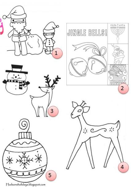 Free Hand Embroidery Patterns Christmas Needle Work
