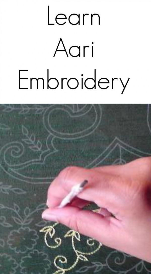 Learn Aari Embroidery Needle Work