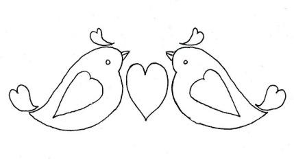Free pattern: Little Birdie Valentine