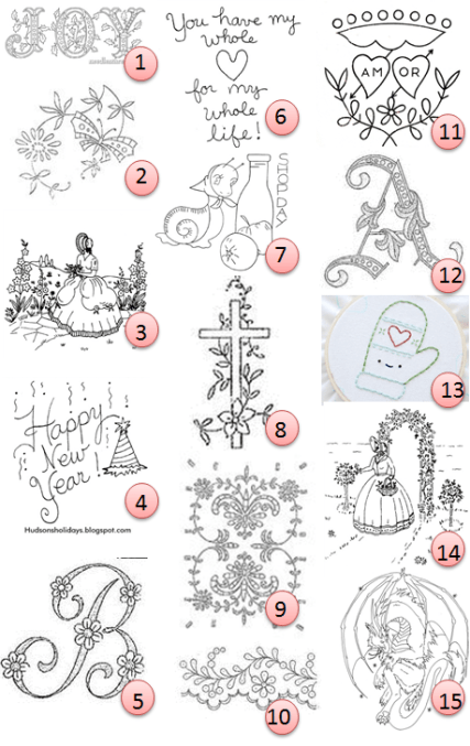 Free Hand Embroidery Patterns Needle Work