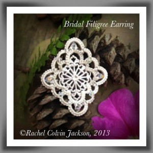 Bridal Filigree Earring