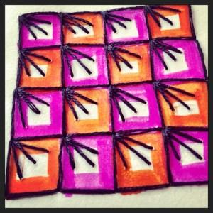 paper grid stitch 1