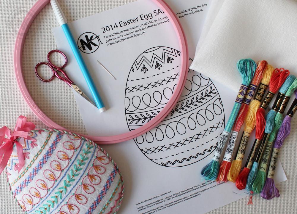2014 Easter Egg Stitch Along