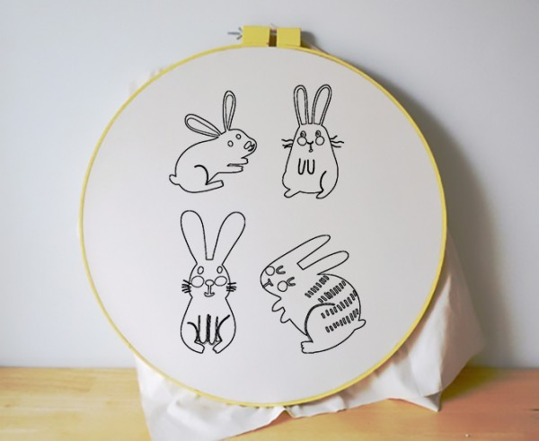 Free_Embroidery_Patterns_Cute_Bunnies