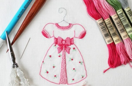 Free Chart – Little Girls Dress