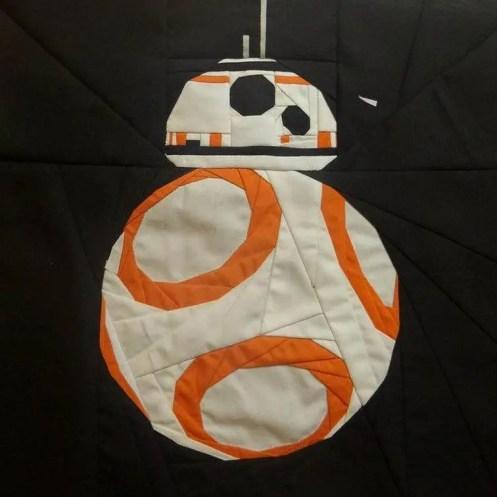 Free Pattern To Make A Bb 8 Droid Star Wars Quilt Craft Gossip