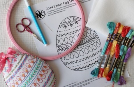 Stuffed Easter Egg Project