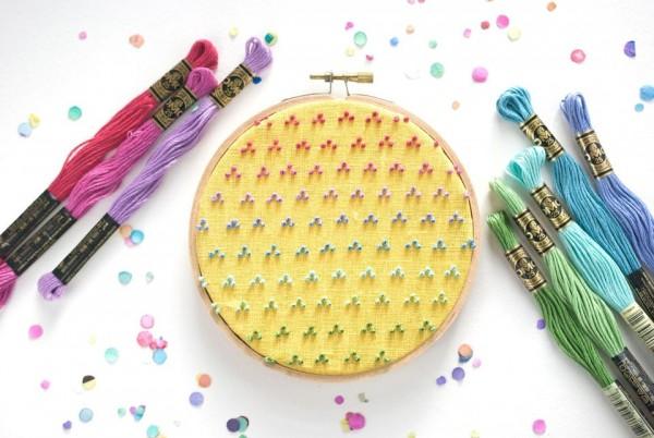 Rainbow Candlewicking Designs
