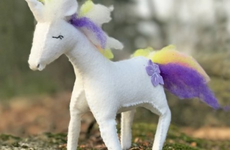 Forest Unicorn Pattern