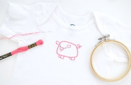 How To  Embroider On Your Child's T-shirts