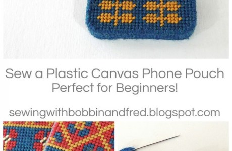 Plastic Canvas Phone Case Tutorial
