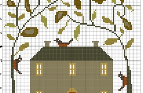 Embroidery Chart – Farmhouse Design