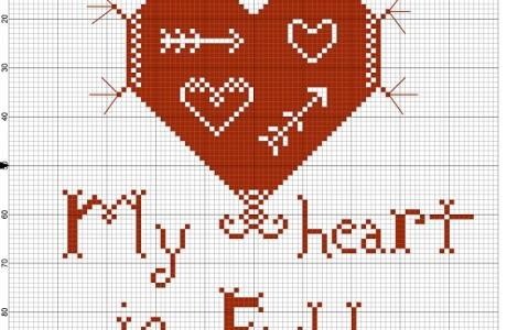 Embroidery Chart – Farmhouse Design