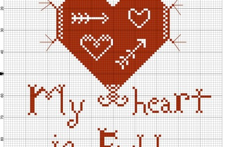 Embroidery Chart – My Heart Is Full