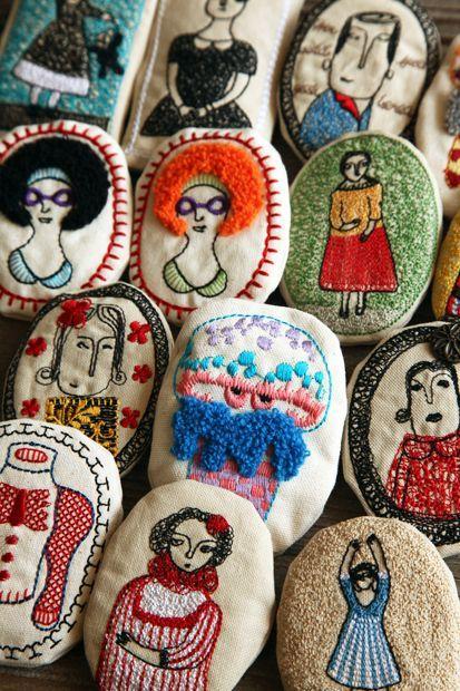 Embroidery Stones