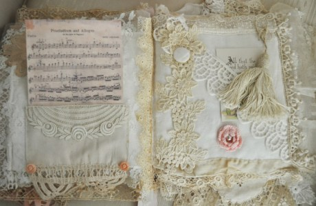 Pearls and Lace Book Tutorial