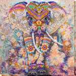 """DIY Embroidery Kit """"Miracle of India"""" Seed bead embroidery pattern"""