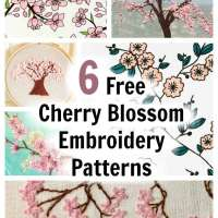 The Prettiest Cherry Blossom Embroidery Designs