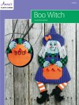 Plastic Canvas Boo Witch Pattern