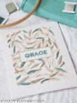 Grace Free Hand Embroidery Pattern