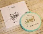 How to Turn Kids Artwork into Embroidery