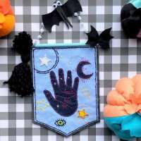 Free Palmistry Felt Embroidery Project