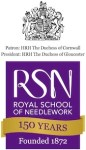 Announcing the Royal School of Needlework Embroidery Stitch Bank