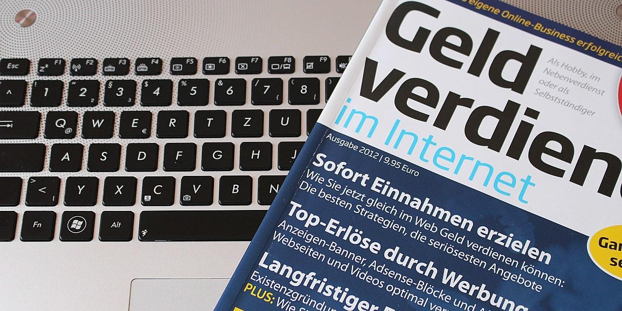 Geld verdienen im Internet- Bloggen zum Job machen