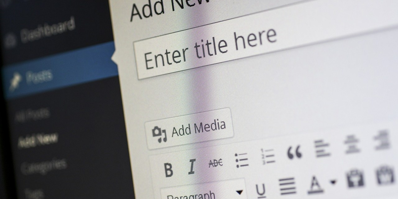 Teil 2: Bloggen, aber richtig