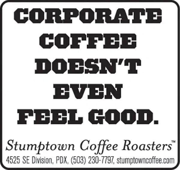 Stumptown Coffee Roasters Branding Web Design Needmore Designs Portland Oregon