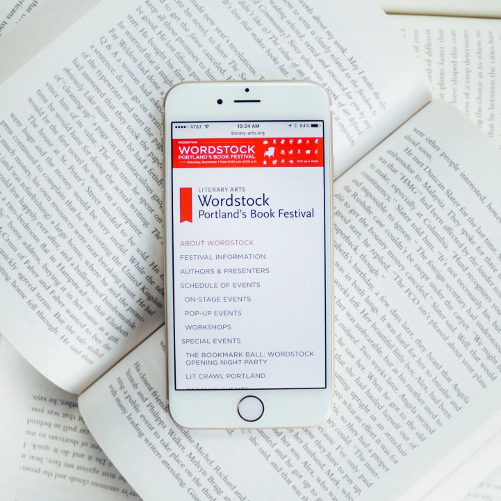 Literary Arts Wordstock on iPhone