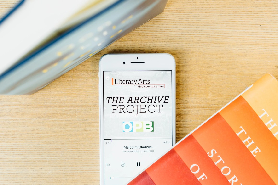 Literary Arts Archive Project on iPhone