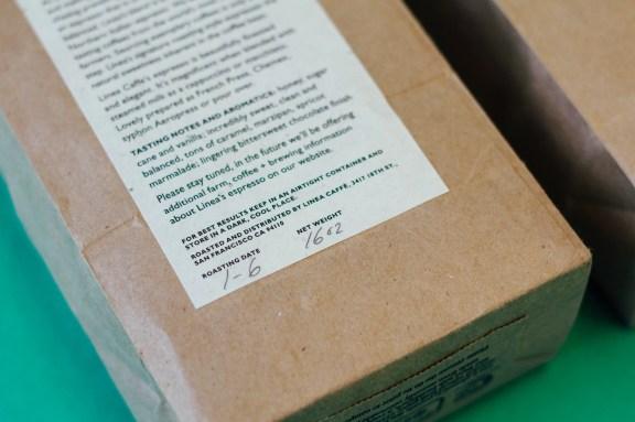 Linea Caffe bag details
