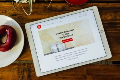 Linea Caffe Website