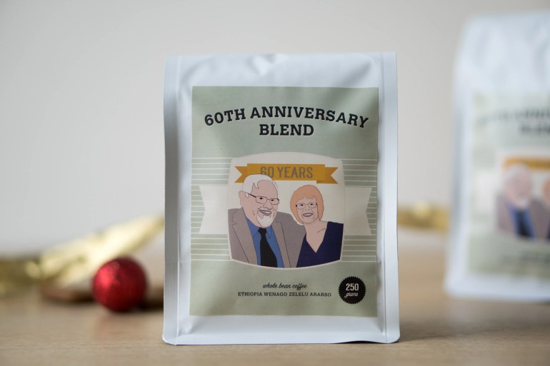 60th Anniversary Blend Coffee Bag