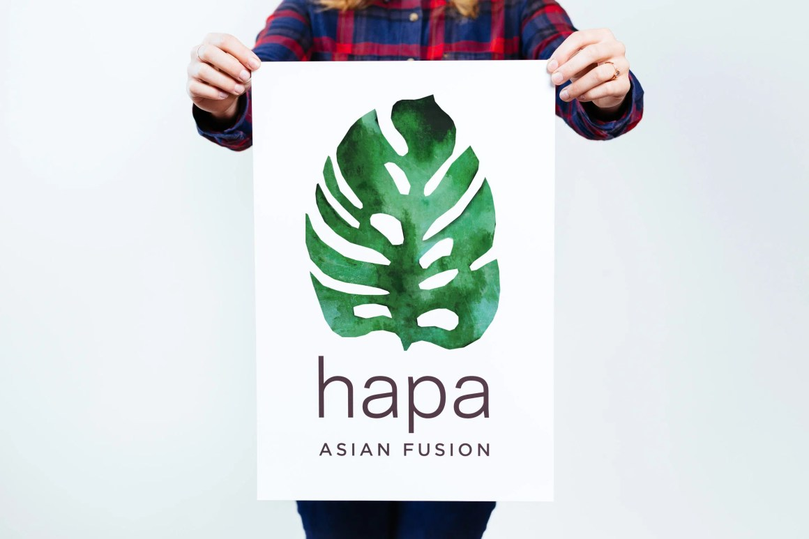 Hapa / Portland logo design by Needmore Designs