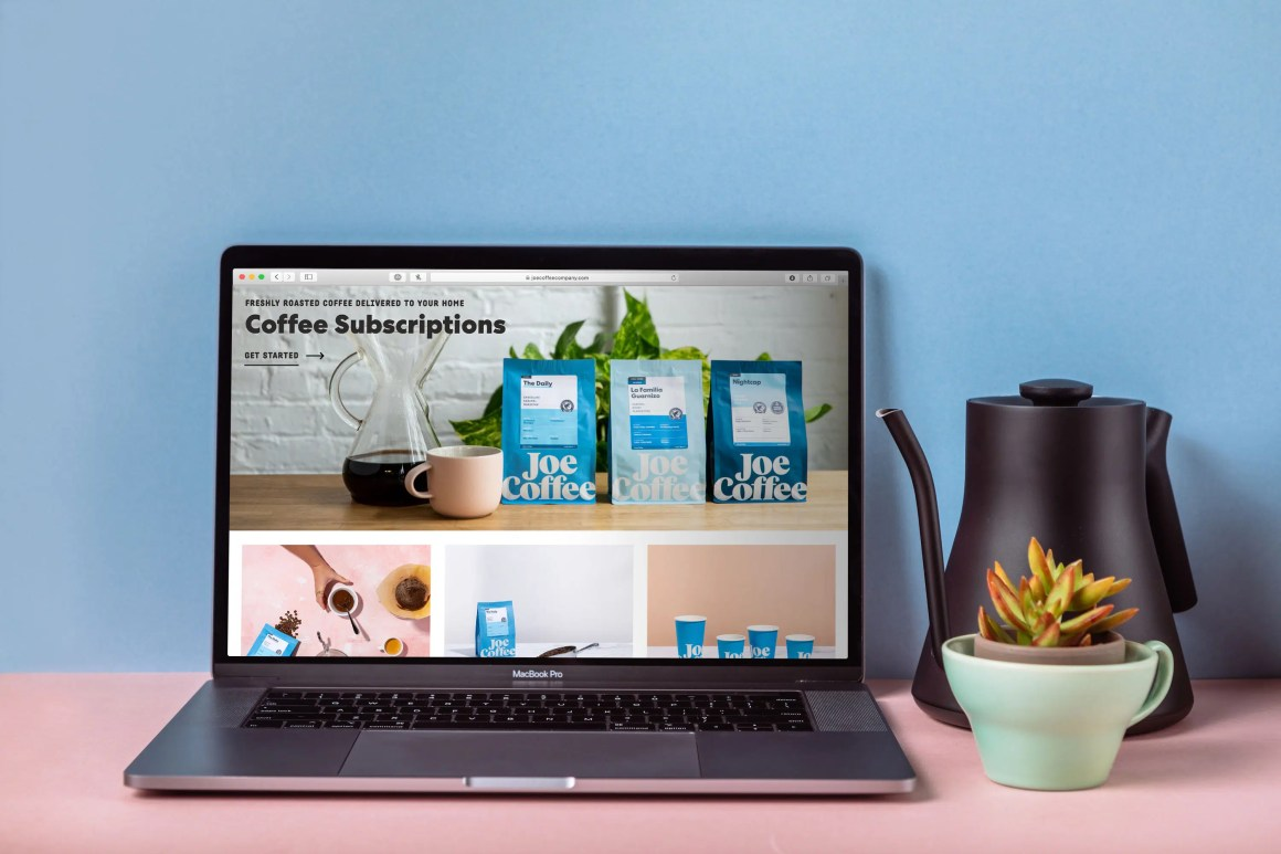 joe coffee home page