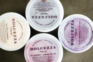 Dolcezza pint tops