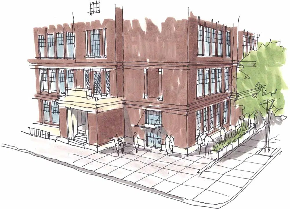 Washington High Leasing Sketch