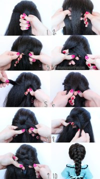 Braiding your own hair - beginners guide - NeedMySpace.com