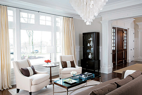 elle decor living room ideas Rachel Zoe Living Room | spark!