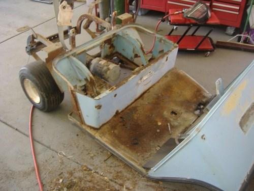 small resolution of ev midget build part 4 rear suspension needthatcar golf cart light wiring diagram golf cart motor wiring diagram