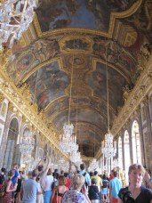The hall of mirrors. Can you imagine a ball taking place in this room? Is that what it was even used for ?