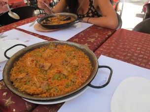 Tried paella for the first time, and loved it.