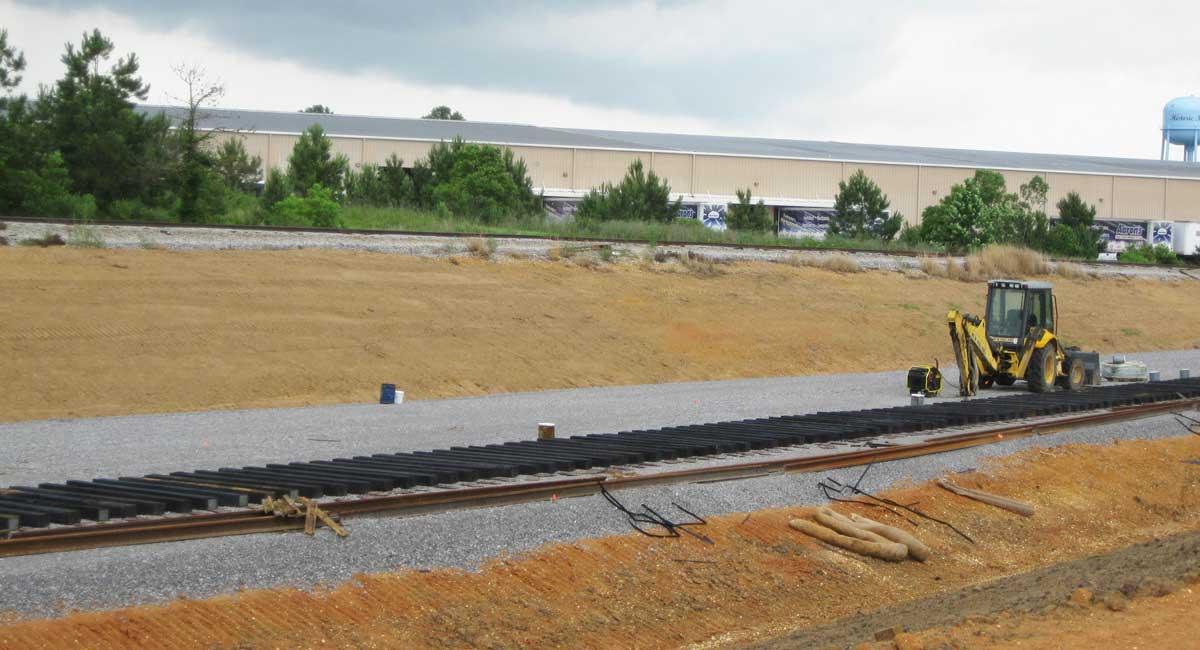 Indeck Energy Railroad Spur Extension