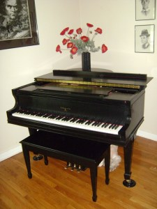 piano at home